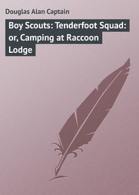- Boy Scouts: Tenderfoot Squad: or, Camping at Raccoon Lodge