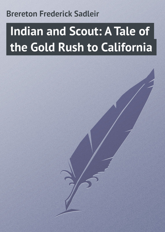 Brereton Frederick Sadleir Indian and Scout: A Tale of the Gold Rush to California richard brereton g chemometrics for pattern recognition