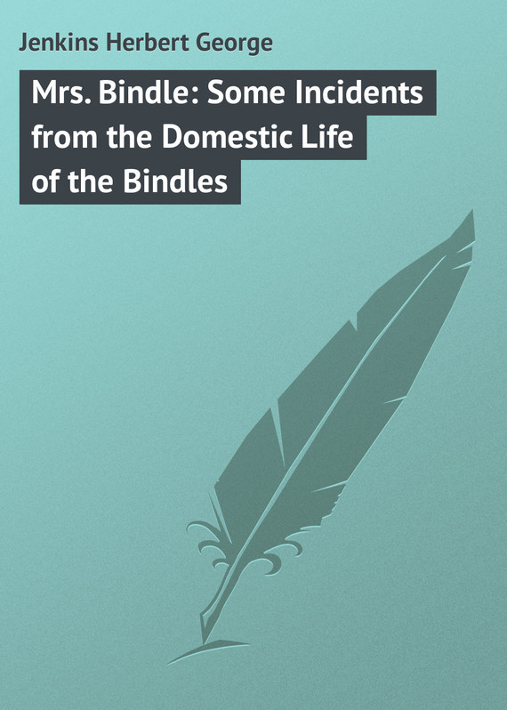 Jenkins Herbert George Mrs. Bindle: Some Incidents from the Domestic Life of the Bindles the transferred life of george eliot