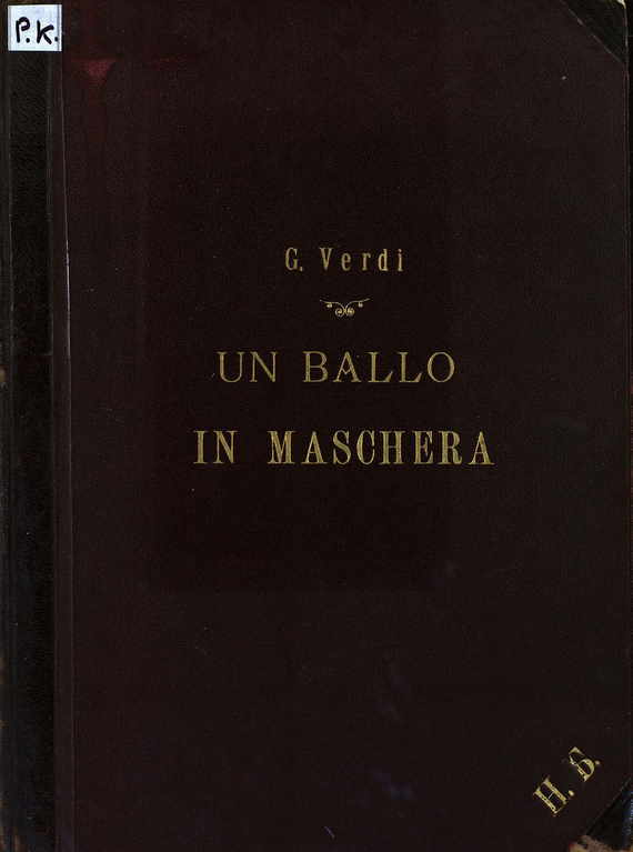 Джузеппе Верди Un Ballo in Maschera xerjoff casamorati 1888 gran ballo