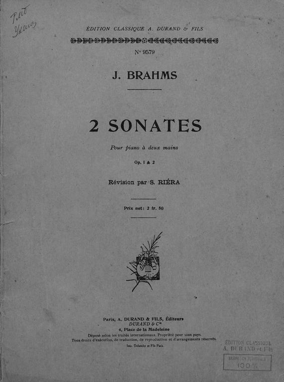 2 Sonates