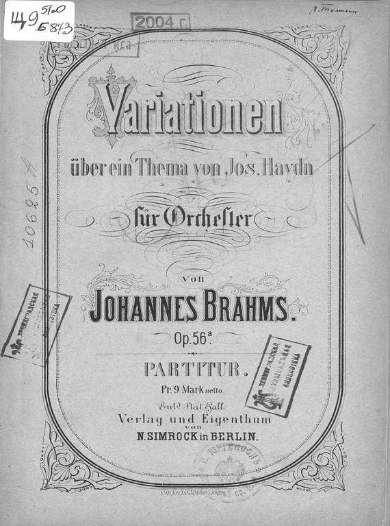 Иоганнес Брамс Variationen uber ein Thema v. Jos. Haydn fur Orchester v. Johannes Brahms b screen b156xw02 v 2 v 0 v 3 v 6 fit b156xtn02 claa156wb11a n156b6 l04 n156b6 l0b bt156gw01 n156bge l21 lp156wh4 tla1 tlc1 b1
