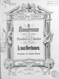Бетховен, Людвиг ван  - 8 Sonatinen fur Pianoforte zu 2 Handen von L. van Beethoven