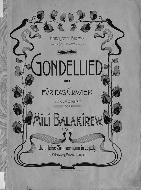 Gondellied/