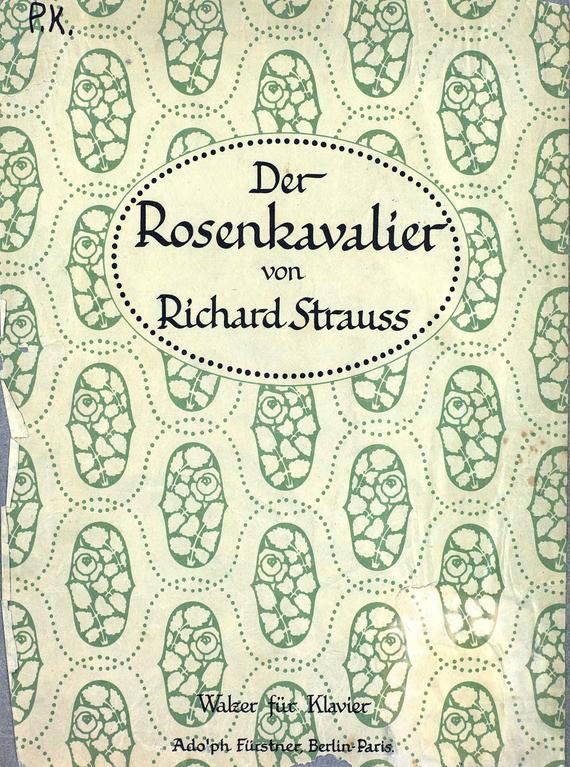 Рихард Штраус Der Rosenkavalier сапоги quelle der spur 1013540