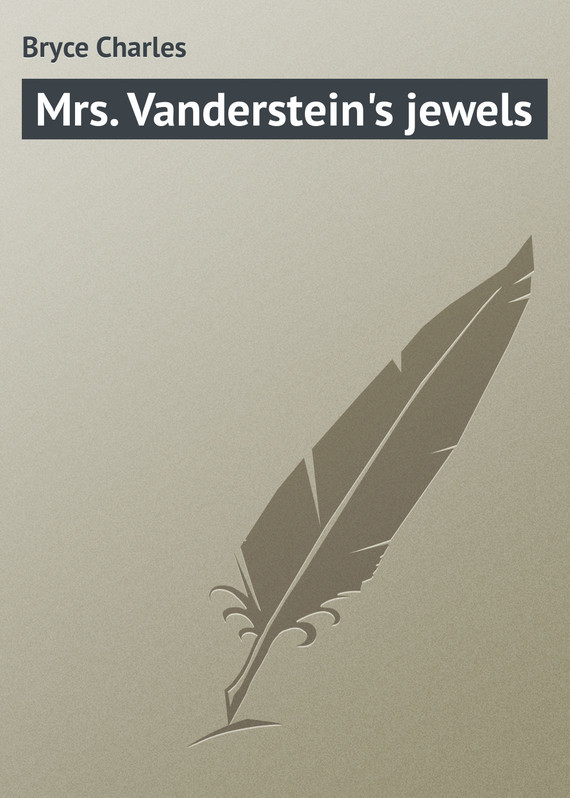 Mrs. Vanderstein's jewels