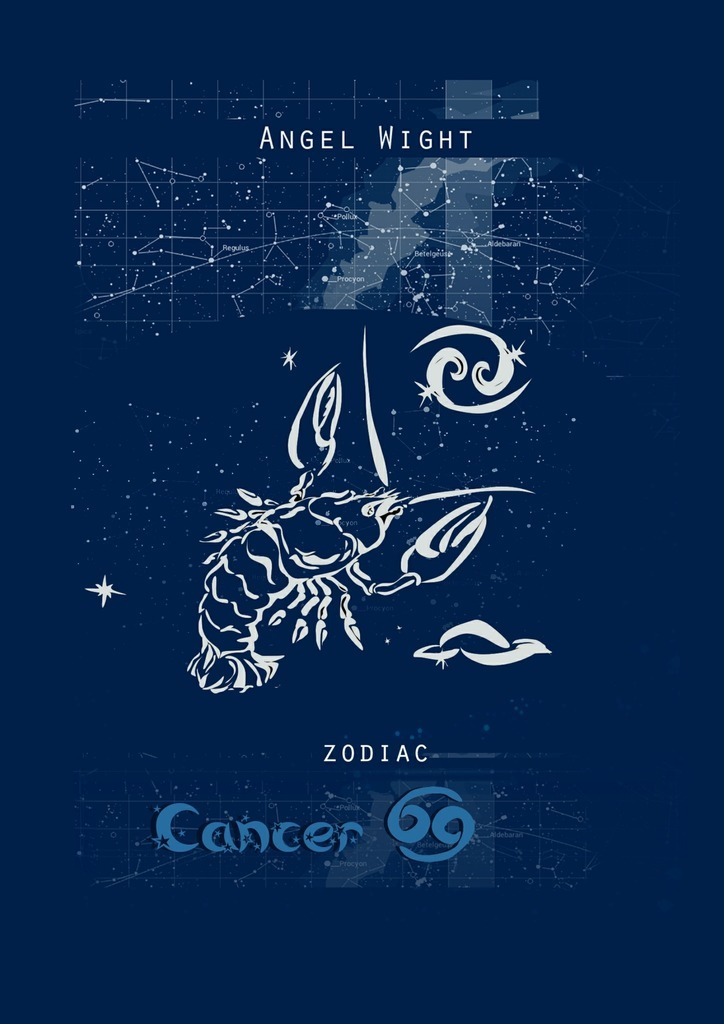 Angel Wight Cancer. Zodiac russian phrase book