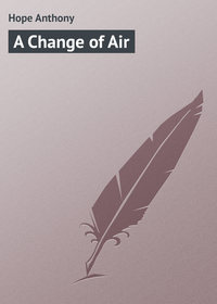 Hope Anthony - A Change of Air