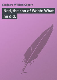 Stoddard William Osborn - Ned, the son of Webb: What he did.