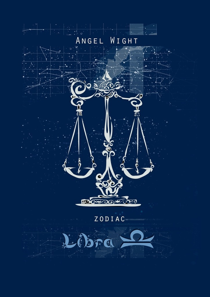 Angel Wight Libra. Zodiac russian phrase book