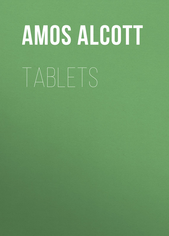 Alcott Amos Bronson Tablets
