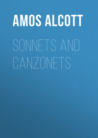 Bronson, Alcott Amos  - Sonnets and Canzonets