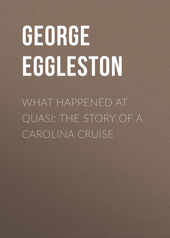 Eggleston George Cary What Happened at Quasi: The Story of a Carolina Cruise dg0091 rounding top hat beach hat coffee