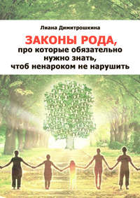 Димитрошкина, Лиана  - Законы Рода, про которые обязательно нужно знать, чтоб ненароком не нарушить