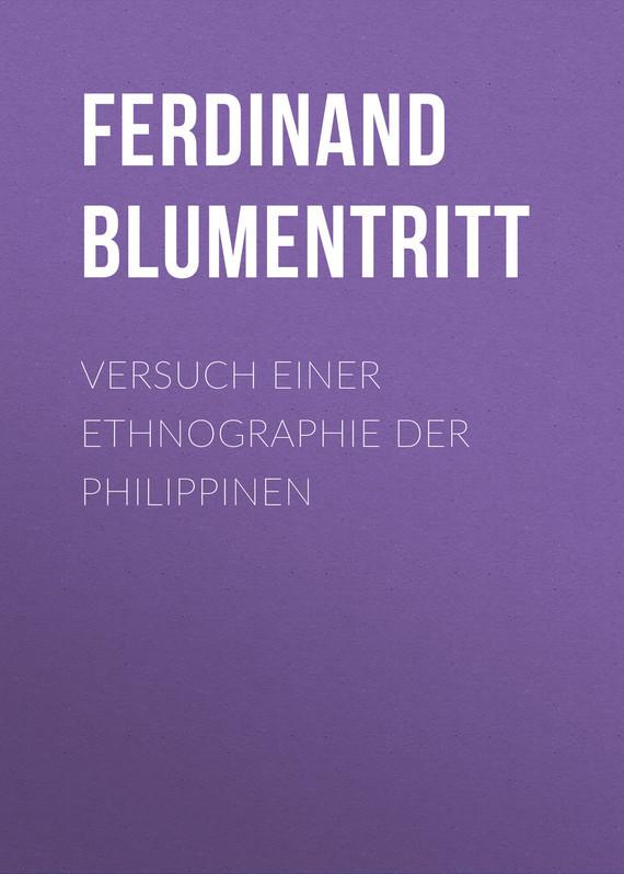Blumentritt Ferdinand Versuch einer Ethnographie der Philippinen ботинки der spur der spur de034amwiz42