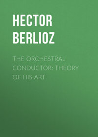 - The Orchestral Conductor: Theory of His Art
