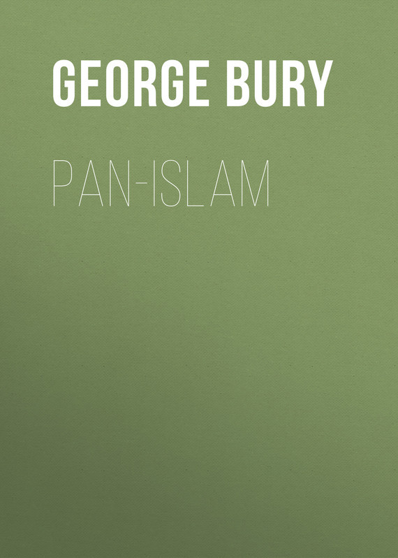 Bury George Wyman Pan-Islam islam between jihad and terrorism