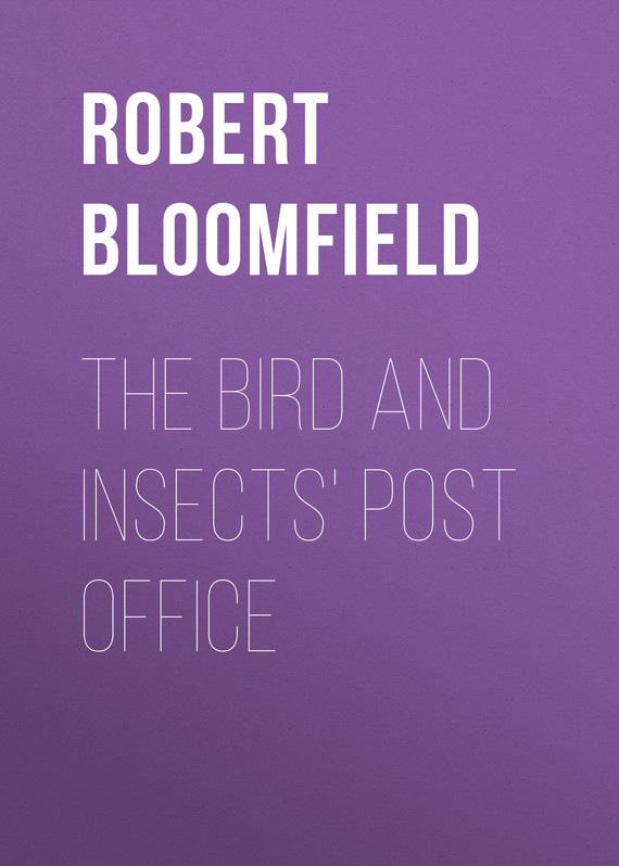 Robert Bloomfield The Bird and Insects' Post Office casual square ancre and bird pattern decorative pillowcase without pillow inner