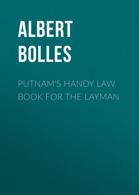 Putnam's Handy Law Book for the Layman