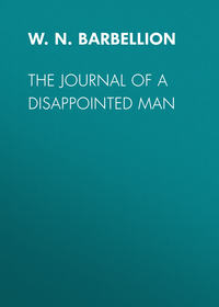 Barbellion, W.N.P.  - The Journal of a Disappointed Man