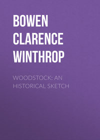 Winthrop, Bowen Clarence  - Woodstock: An historical sketch