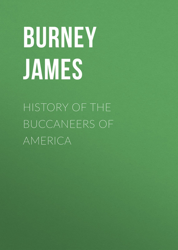 Burney James History of the Buccaneers of America a new literary history of america