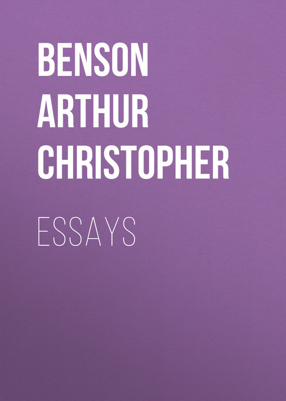 Benson Arthur Christopher Essays