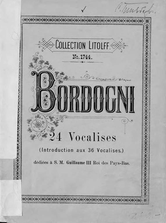 24 vocalises