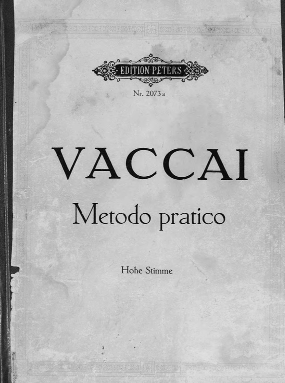 Никола Ваккаи Praktische Schule des italienischen Gesanges v. N. Vaccai praktische statik