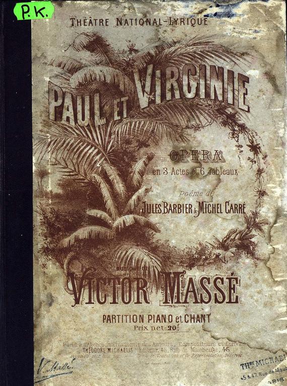 Виктор Массе Paul et Virginie цена 2017