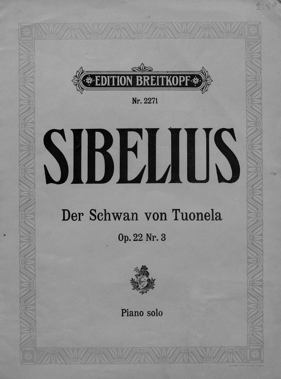 Ян Сибелиус Der Schwan von Tuonela tuonelan joutsen ян сибелиус der schwan von tuonela tuonelan joutsen