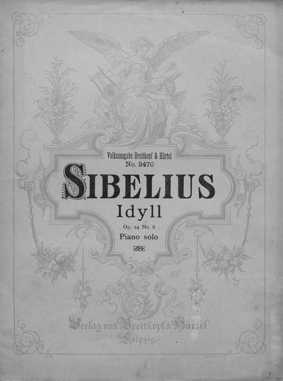 Ян Сибелиус Idyll ян сибелиус der schwan von tuonela tuonelan joutsen