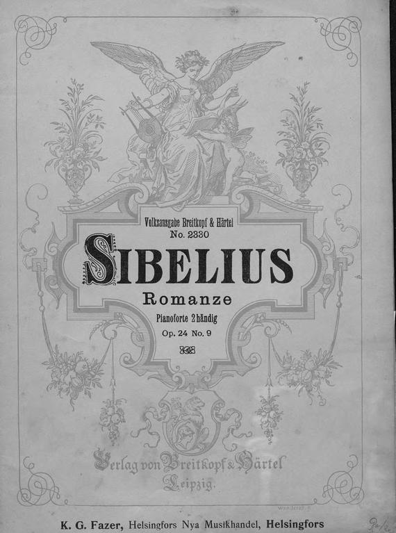 Ян Сибелиус Romance ян сибелиус der schwan von tuonela tuonelan joutsen