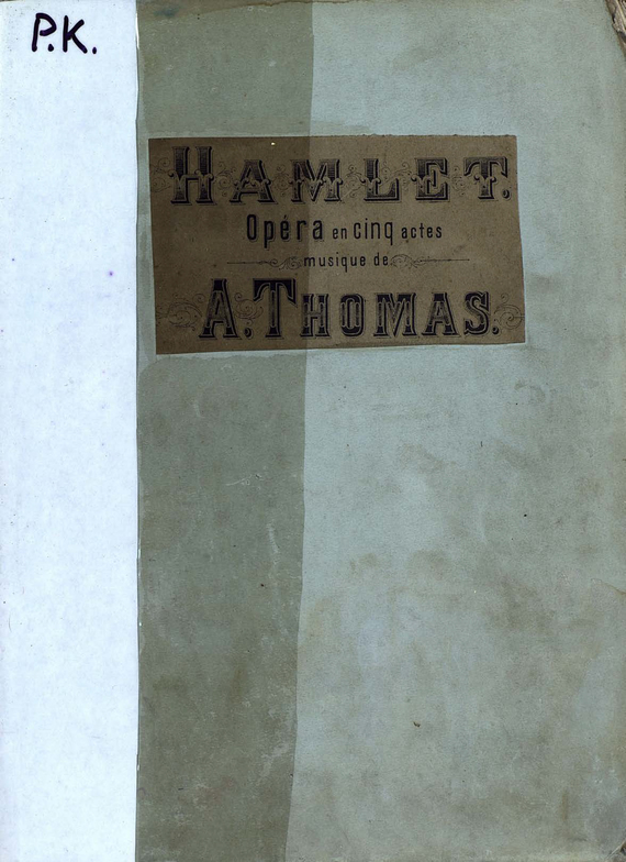 Шарль Луи Амбруаз Тома Hamlet hamlet ned r