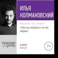 Колмановский, Илья  - Лекция «Как мы смотрим и что мы видим»
