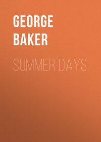 Melville, Baker George  - Summer Days