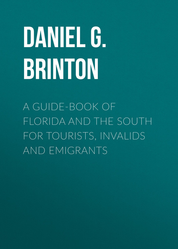 Brinton Daniel Garrison A Guide-Book of Florida and the South for Tourists, Invalids and Emigrants