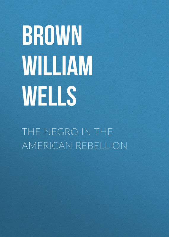 Brown William Wells The Negro in The American Rebellion slave rebellion in brazil
