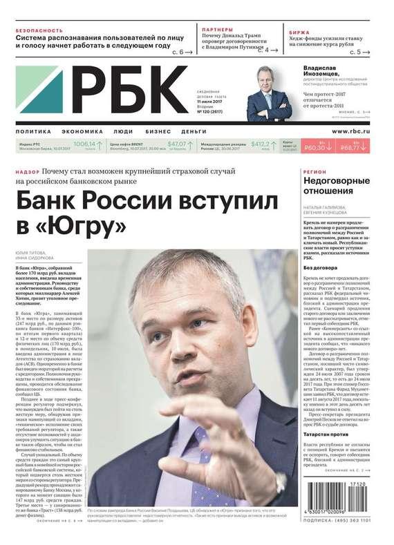 Ежедневная Деловая Газета Рбк 120-2017
