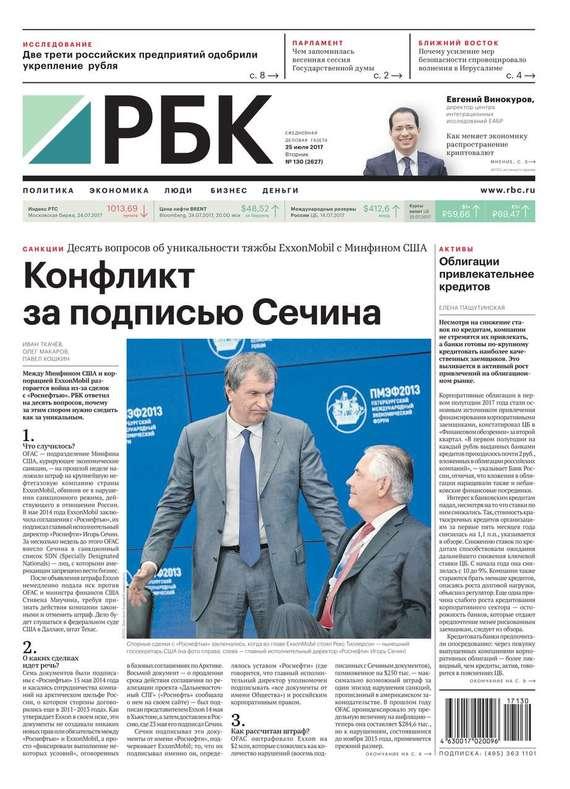 Ежедневная Деловая Газета Рбк 130-2017