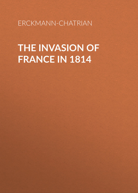 Erckmann-Chatrian The Invasion of France in 1814 the cooking of southwest france