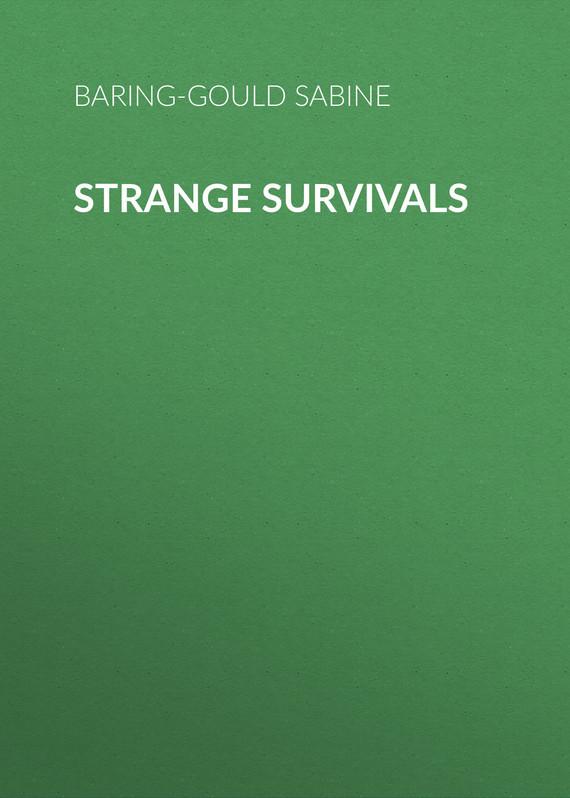 Baring-Gould Sabine Strange Survivals sabine