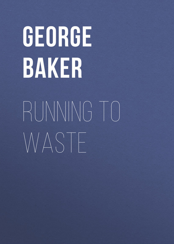 Baker George Melville Running To Waste цена 2017