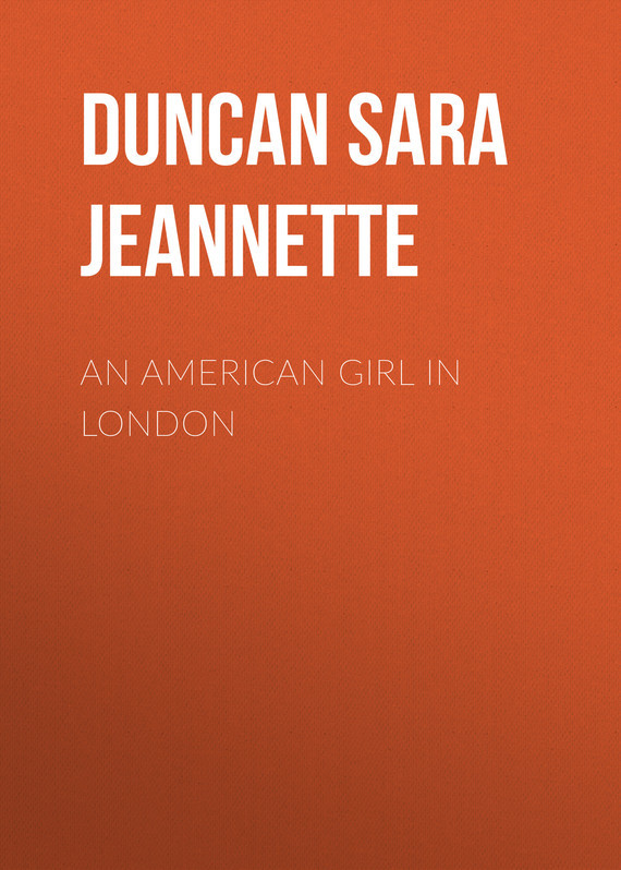 Duncan Sara Jeannette An American Girl in London london in paint