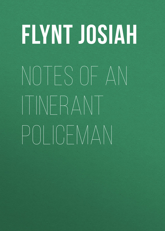 Flynt Josiah Notes of an Itinerant Policeman itinerant specialist support for preschool inclusion