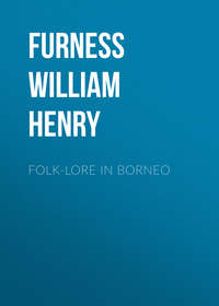 Furness William Henry - Folk-lore in Borneo