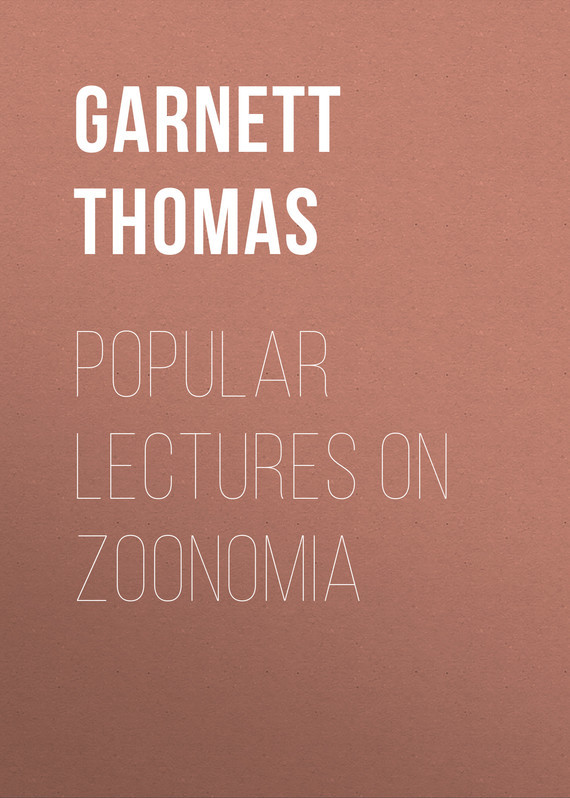 Popular Lectures on Zoonomia
