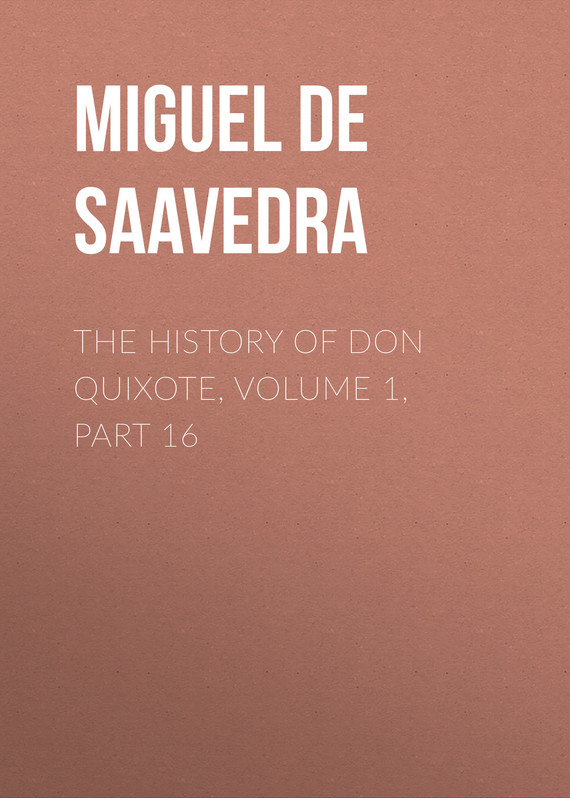 Мигель де Сервантес Сааведра The History of Don Quixote, Volume 1, Part 16 cervantes saavedra de m don quixote part 1