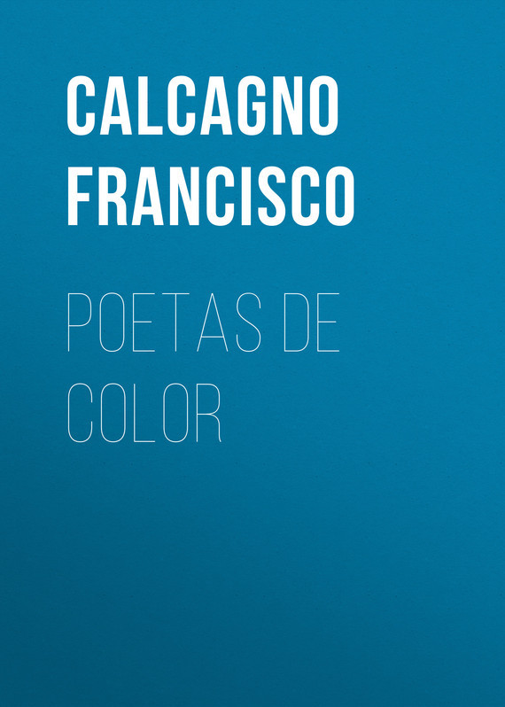 Calcagno Francisco Poetas de color