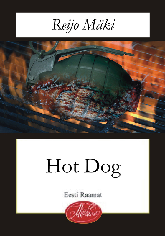 Reijo Mäki Hot Dog reeli reinaus must vares